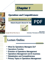 Operations and Competitiveness