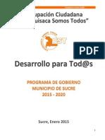 Programa CST Apolonia Rodríguez