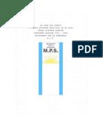 Programa MPS Oscar Chirinos