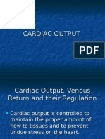 Cardiac Output, Venous Return and Their Regulation
