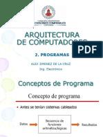 2 Ejecucion de Programas