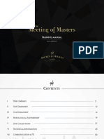 Backes & Strauss - Meeting of Masters Training Manual 2015 - Harrods