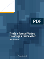 3Q14 Silicon Valley Venture Capital Survey