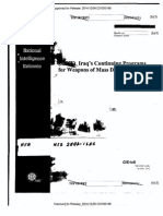 Iraq October 2002 NIE on WMDs (unedacted version)