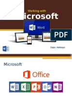 Basic overview of Microsoft Word