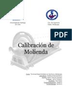 Informe 2 Calibracion Molienda