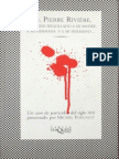 Yo, Pierre Rivière [Michel Foucault]