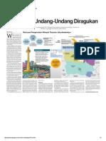Efektivitas UU Diragukan_19!02!2014_Media Indonesia