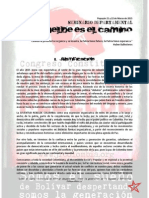 Convocatoria SEMINARIO DEPARTAMENTAL REBELDE ES EL CAMINO Seminario Departamental Rebelde Es El Camino