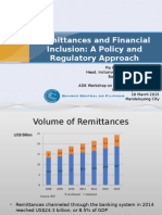 Remittances and Financial Inclusion