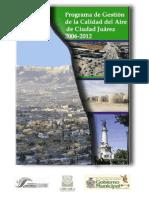 ProAire Ciudad Juárez 2006-2012