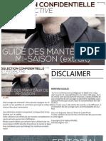 Guide Manteaux Extra It