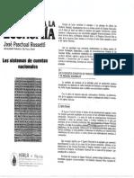 José Paschoal Rossetti - Introducción a La Economía - Sistema de Cuentas Nacionales