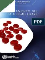 Tratamiento Del Paludismo Grave