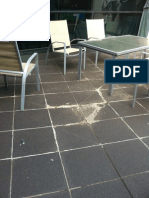 Leaking Balconies - notes from a Balcony Inspection