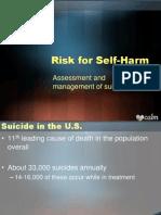 11 - managing risk for self-harm