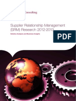 Supplier Relationship Management Research 2012-2013-9jan2013 0