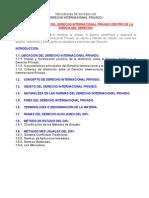 """Unidad i. Ubicaciã""""n Del Derecho Internacional Privado Dentro de La Ciencia Del Derecho.[1]"""