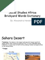 social studies africa