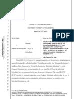 SD-3C v. Biwin Tech - summary judgment trademark.pdf