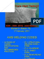 Why is There Weld Testing