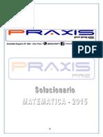 Solucionario Matematica a Ordinario 2015 II