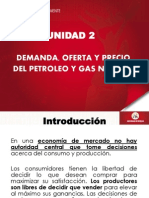 Demanda, Oferta y Precio Del Petroleo y Gas Natural