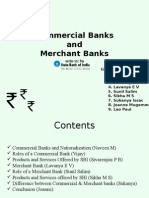 Merchant Banks vs commercial Banks