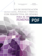 Protocolo Feminicidio MEX