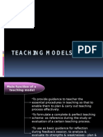 Teaching Models