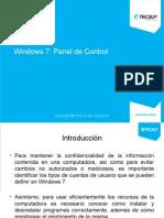 U02 Windows 7 Panel de Control 2014-2