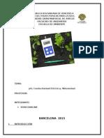 Conductividad electrica, ph, %humedad