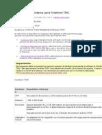 Requisitos Del Sistema Para Forefront TMG