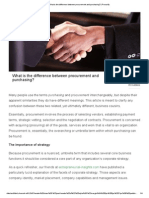 What is the Difference Between Procurement and Purchasing - Procurify