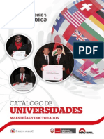 Catalogo Universidades