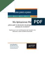 Guia Paso A Paso Mis Aplicaciones Web (para pedir devolucion del impuesto pagado en el exterior).pdf
