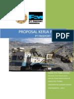 Proposal Kerja Praktik Nanda- Pt Freeport Indonesia