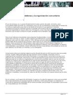 Marxismo Autodefensa Org Comunitaria- Andrés Ávila Armella