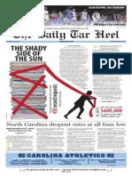 The Daily Tar Heel for Mar. 19, 2015