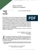 Lenguaje y Emociones, Tema Marginal en La Linguistica