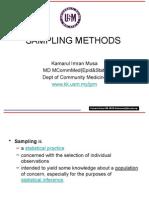 4. Sampling Methods