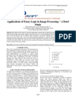 Applications of Fuzzy Logic in Image Processing – A Brief Study
