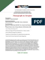 monografi atropin