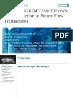 Leveraging Remittance Flows