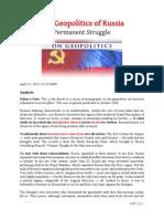 The Geopolitics of Russia