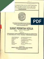 Pengawasan Teknis Semenisasi RT. 07 Gang B Kel. Panji (Kukar)