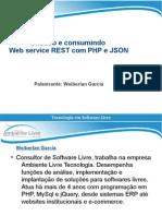 Criando e consumindo web service rest com php e json