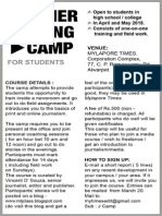 Summer Writing Camp / 2015