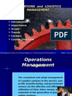 Introduction to Operations and Logistics Management