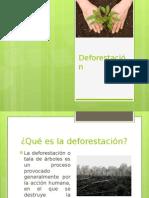 Deforestacion presentacion